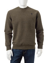 U.S. Polo Assn. Green Sweatshirt