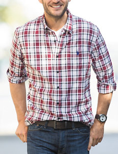 U.S. Polo Assn. Red Casual Button Down Shirts