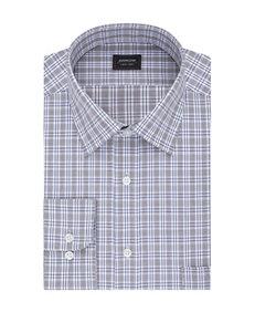 Arrow Multicolor Plaid Print Dress Shirt