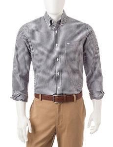 Dockers Plaid Print Woven Shirt