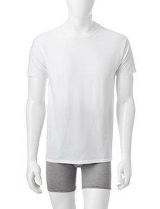 Hanes White Undershirts