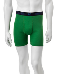Hanes 3-pk. Active Knit Boxers