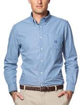 Chaps Seersucker Print Shirt