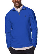 Chaps Blue 1/4 Zip Pullover