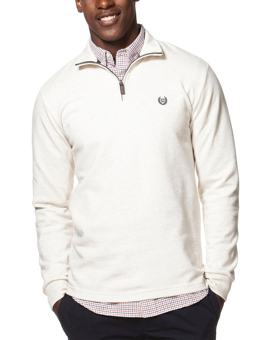 Chaps Oatmeal Pull-overs