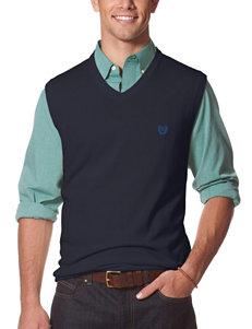 Chaps Navy Sweater Vest