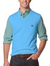 Chaps Blue Sweater Vest