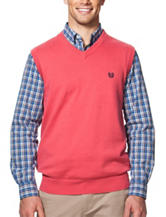 Chaps Coral Sweater Vest