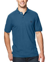 Chaps Blue Piqué Polo Shirt
