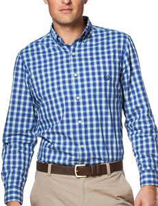 Chaps Mini Plaid Print Shirt