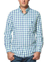 Chaps Plaid Print Poplin Shirt