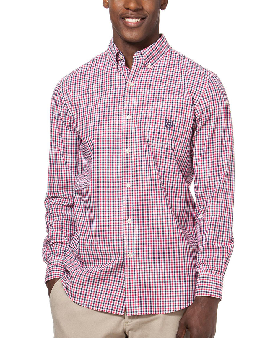 Chaps Rose Casual Button Down Shirts