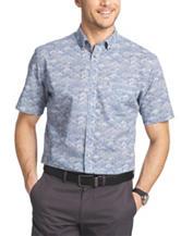 Van Heusen Rising Suns Print Woven Shirt