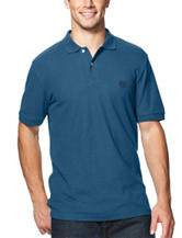 Chaps Men's Big & Tall Solid Color Pique Polo Shirt