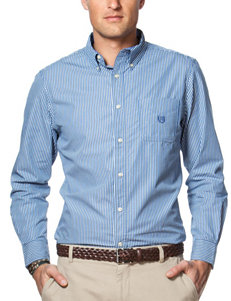 Chaps Big & Tall Easy Care Striped Shirt