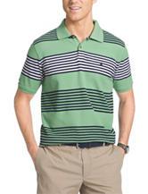 Izod Striped Print Polo Shirt