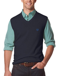 Chaps Big & Tall Navy Sweater Vest