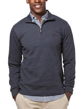 Chaps Big & Tall Charcoal Knit Pullover