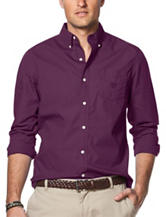 Chaps Solid Woven Shirt