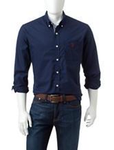 U.S. Polo Assn. Solid Color Woven Shirt