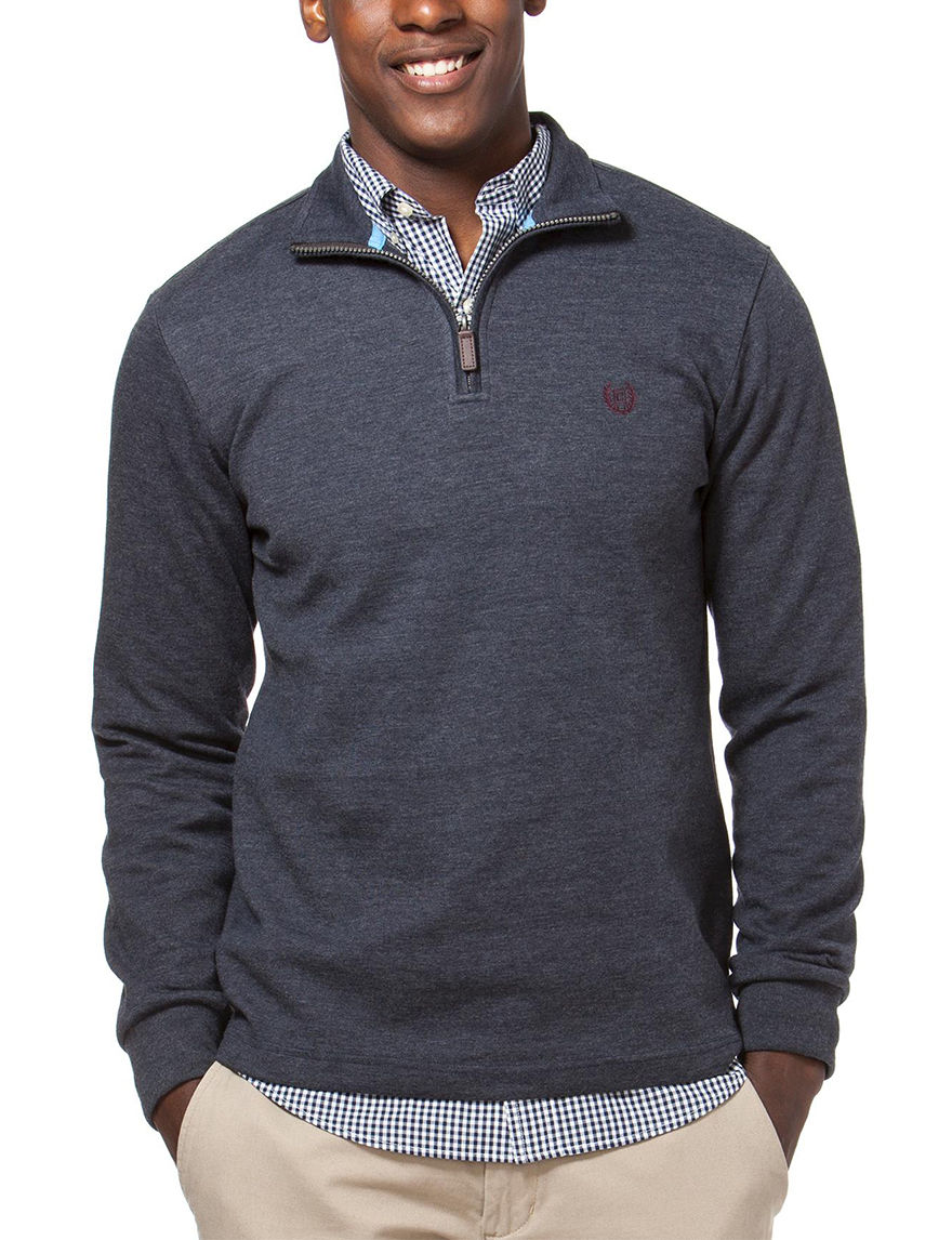 Chaps Navy Pull-overs