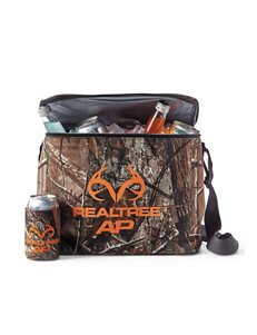 Realtree Camo Cooler and Coozie Set