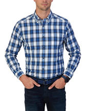 Nautica Plaid Print Shirt