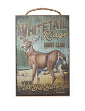 American Expedition Whitetail Ridge Club Sign