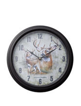 American Expedition Whitetail Deer Clock