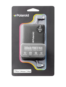 Polaroid Black Battery Packs & Chargers Tech Accessories