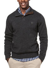 Chaps Charcoal Sweater