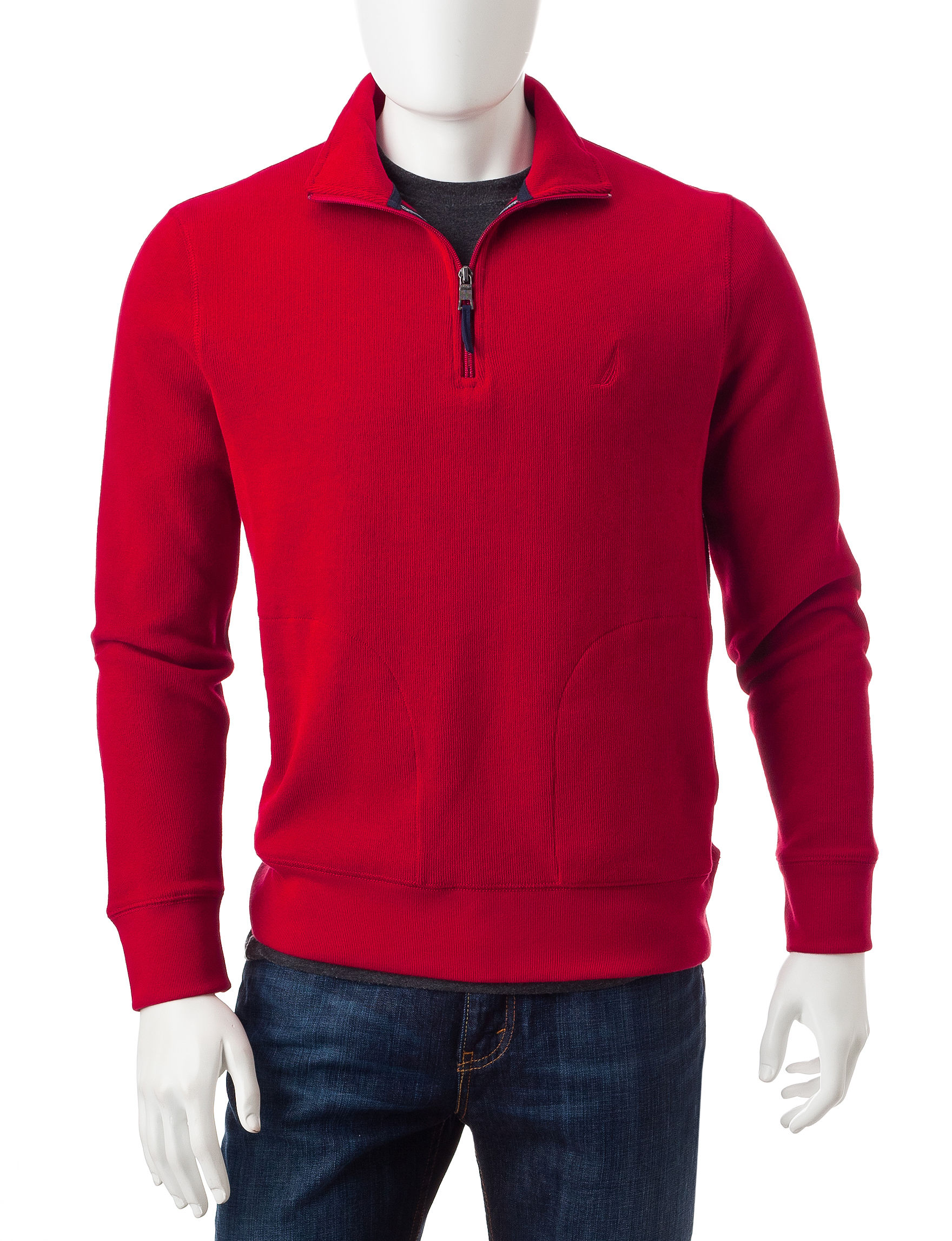 Nautica Red Pull-overs