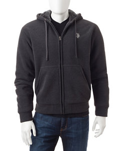 U.S. Polo Assn. Grey Lightweight Jackets & Blazers