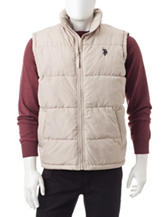 U.S. Polo Assn. Solid Color Puffer Vest