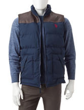 U.S. Polo Assn. Colorblock Western Vest