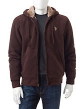 U.S. Polo Assn. Solid Color Sherpa Jacket