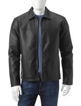 U.S. Polo Assn. Faux Leather Trucker Jacket