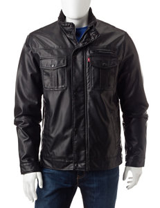 Levi's Black Lightweight Jackets & Blazers