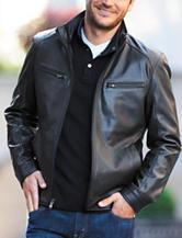 Michael Kors Marshall Faux Leather Jacket