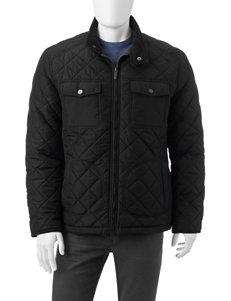 London Fog Black Lightweight Jackets & Blazers