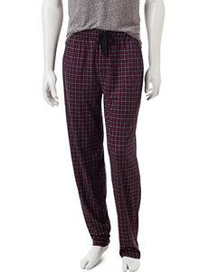 Ivy Crew Tattersall Plaid Print Pajama Pants
