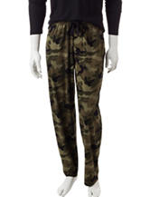 Ivy Crew Camouflage Print Knit Sleep Pants