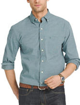 Izod End On End Woven Shirt