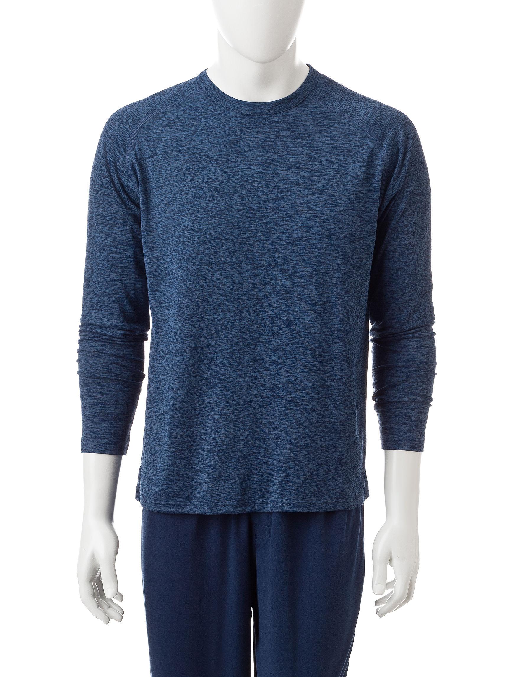 Izod Blue Pajama Tops