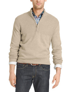 Izod Beige Sweaters