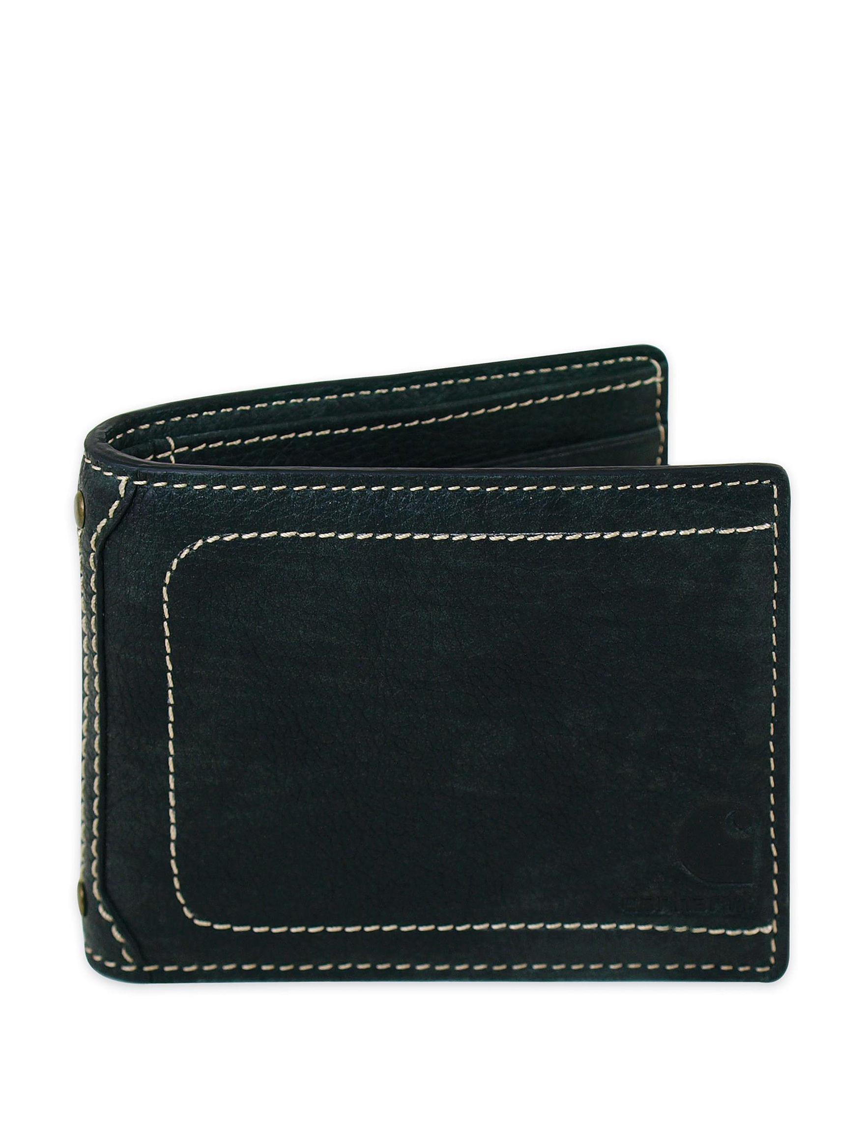 Carhartt Black Bi-fold Wallets
