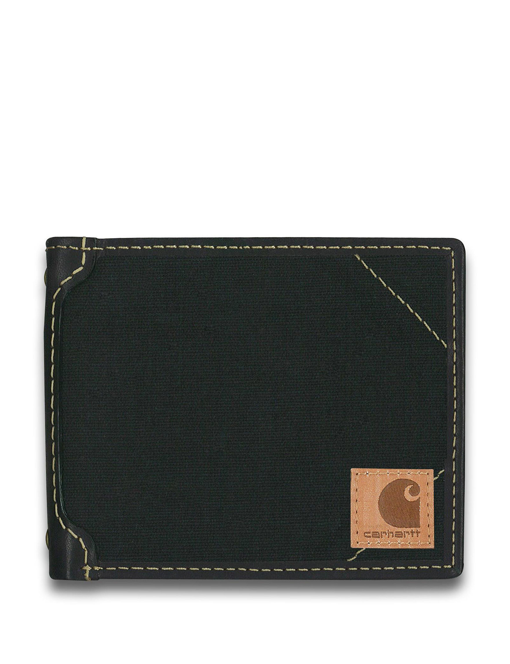 Carhartt Black Bi-fold Wallets