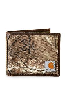 Carhartt Beige Bi-fold Wallets