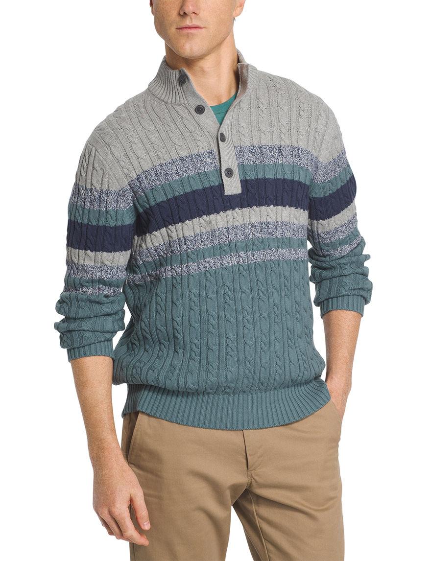 Izod Turquoise Sweaters