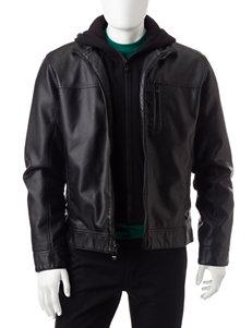 Calvin Klein Black Lightweight Jackets & Blazers